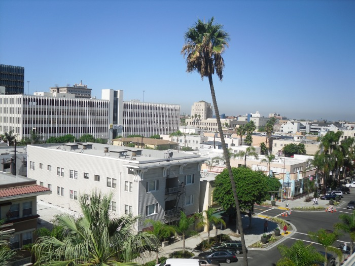 Through the glass: Downtown LBC